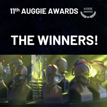 Winners Auggie Awards AWE 2020