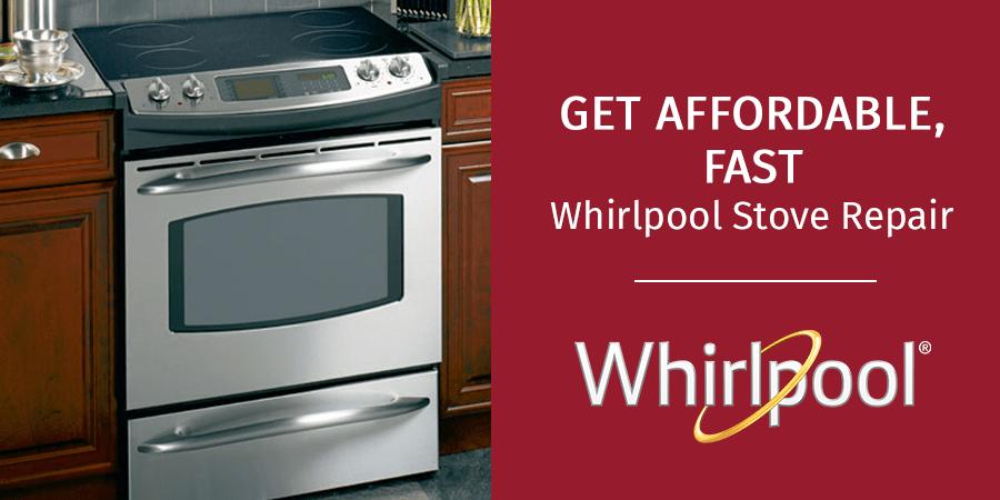 whirlpool stove oven repair near me