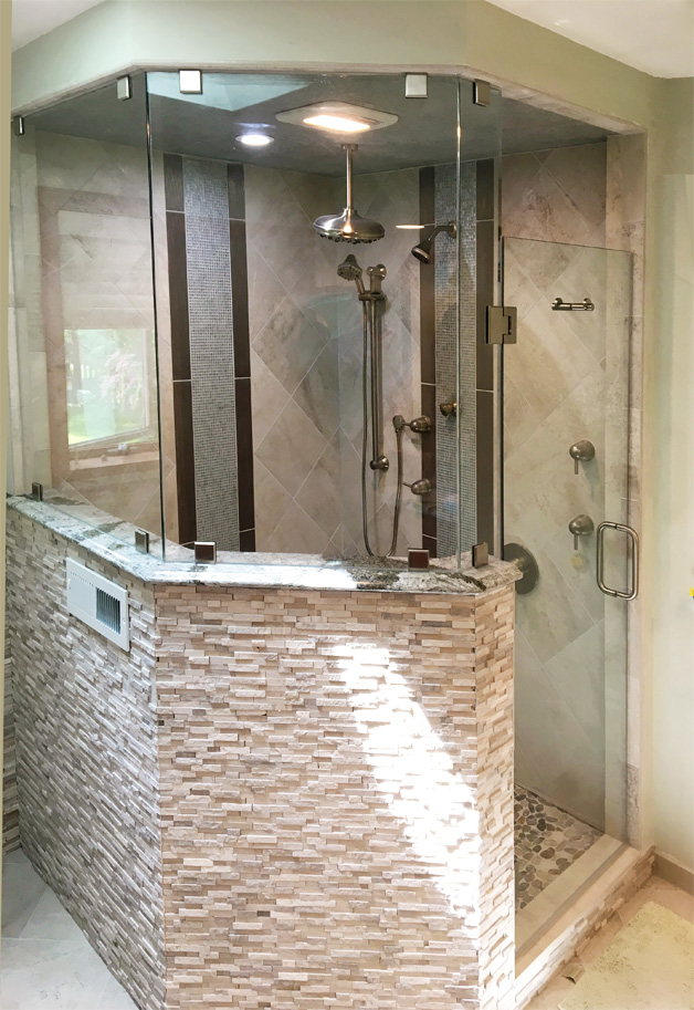 Shower Glass Pictures Area Glass WI MadisonOregon