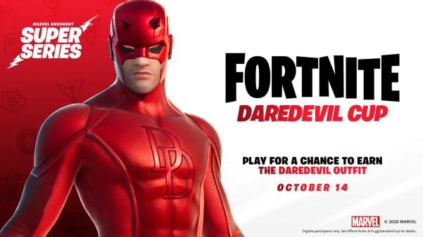 Fortnite revela la nueva Copa Daredevil y cómo conseguir su skin gratis