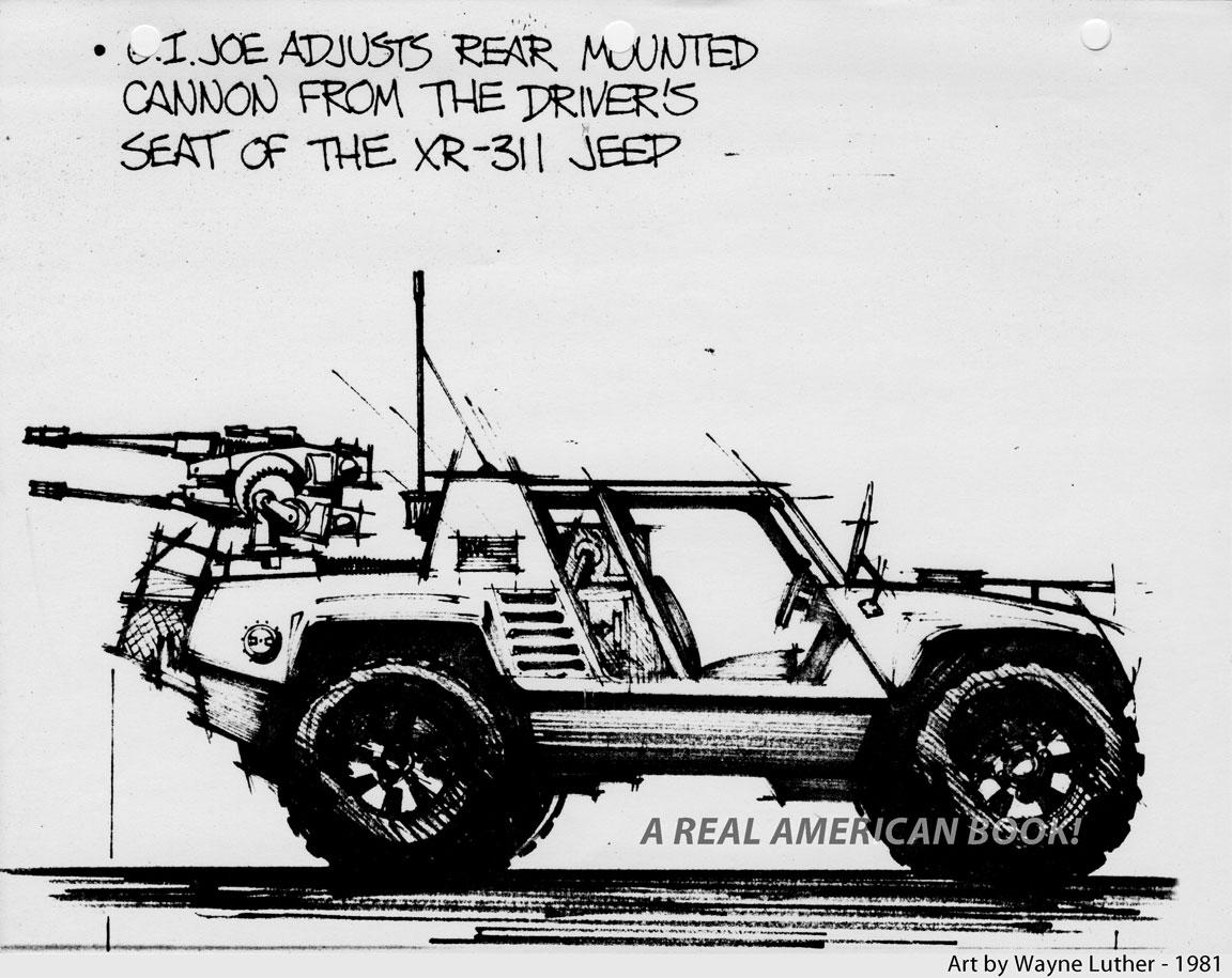 Gi Joe Vehicle Design