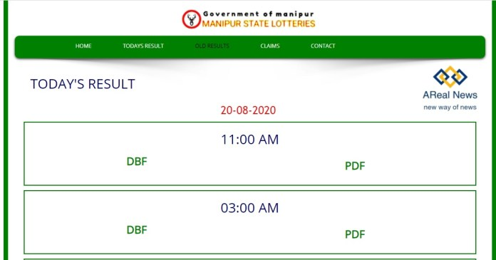 Manipur Lottery Live Result
