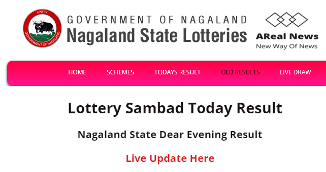 Nagaland State Lottery Live Result Today
