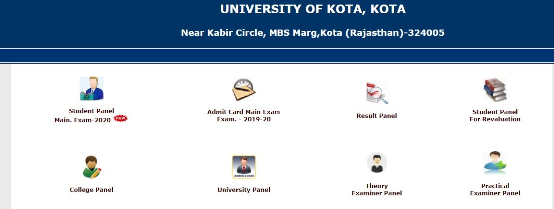 UOK BED Admit Card