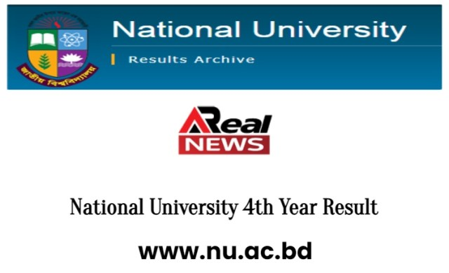 National University 4th Year Result