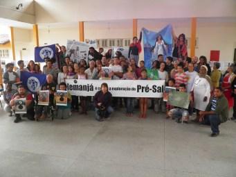 Vila Velha - ES , 2015. Encontro de Lançamento da Campanha Nem Um Poço a Mais.