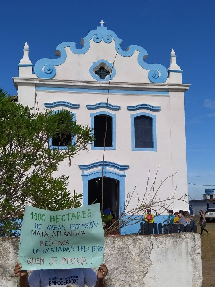 14 - Ato contra Porto Central em Presidente Kennedy_ Foto_ divulgação