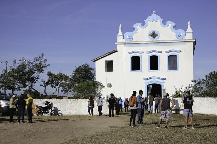 7 - Anualmente o Santuário recebe cerca de 50 mil pessoas no dia de Nossa Senhora das Neves