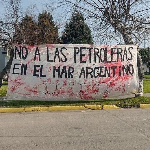 Resistência por Mar Livre de Petroleiras na Argentina cresce