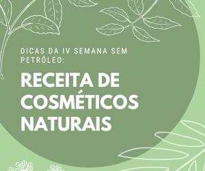 Receita de cosméticos naturais