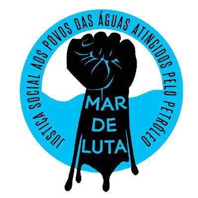 Campanha Mar de Luta é lançada por justiça ao óleo nas praias