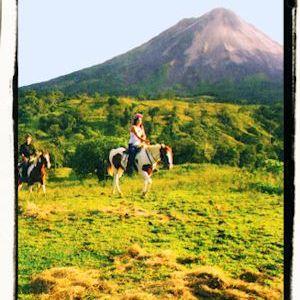 Cabalgatas en Costa Rica