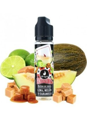 POKER FRUITS LIMA MELON Y CARAMELO 50ML 0MG