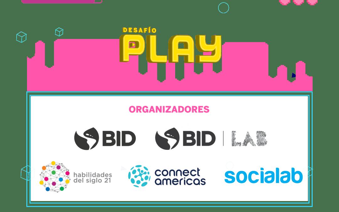 Desafío Play: Convocatoria para crear videojuegos educativos