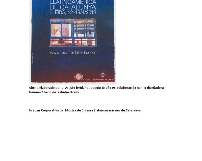 MOSTRA DE CINEMA LATINOAMERICANO de CATALUÑA  EN LLEIDA