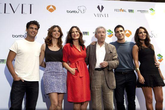 """Antena 3 presenta """"Galerías Velvet"""" en fesTV de Vitoria"""