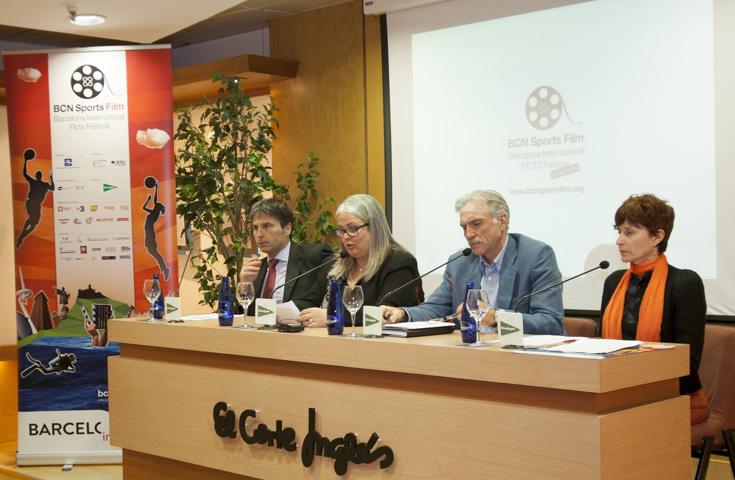 La quinta edición del Festival de cine y televisión deportiva llega a Barcelona.