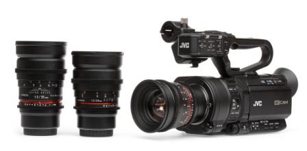 JVC presenta últimas cámaras 4K en CES2015
