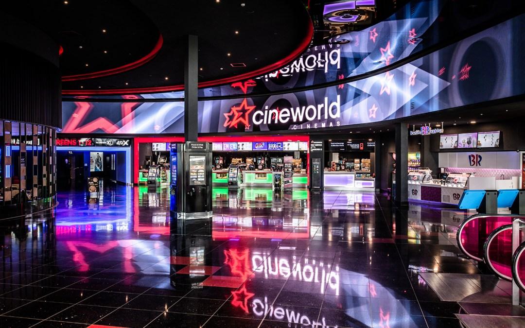 Cineworld Group opta por la familia RealLaser de proyectores láser RGB de Christie para equipar sus mejores salas de cine repartidas por el mundo