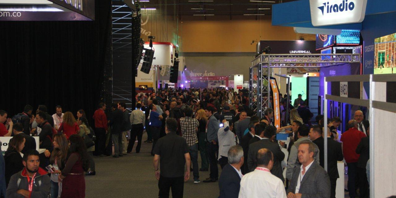 Con éxito terminaron las ferias InfoComm Colombia, TecnoTelevisión & Radio y DataNet Andino