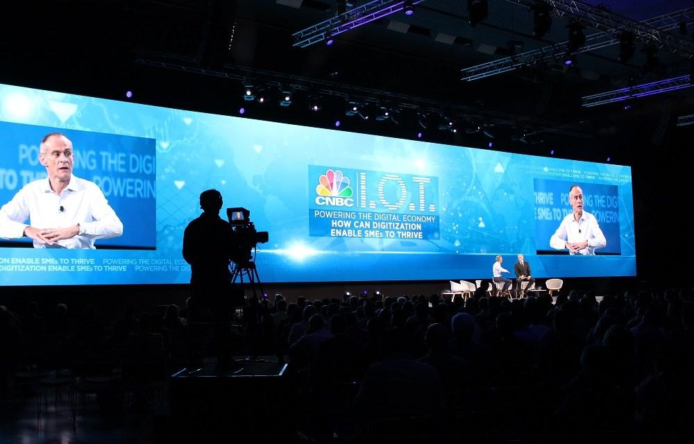 Christie Spyder X80 gestiona la principal pantalla del Schneider Electric Innovation Summit