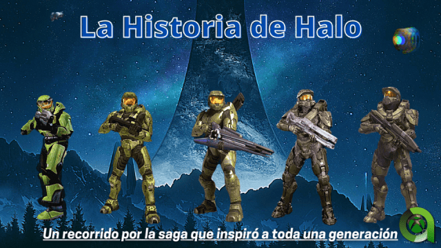 La historia de Halo