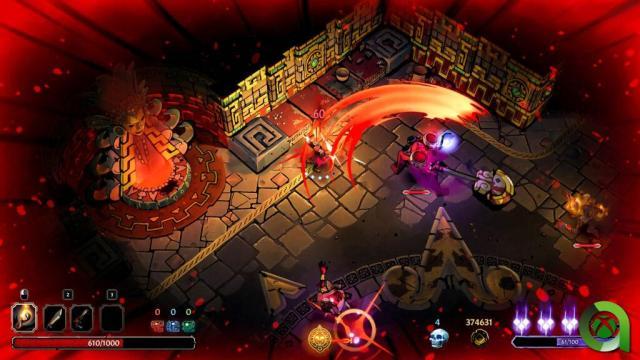 Curse of the dead gods area xbox