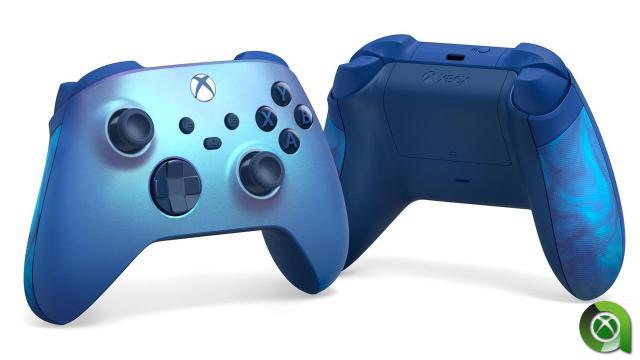 Mando Xbox Aqua Shift