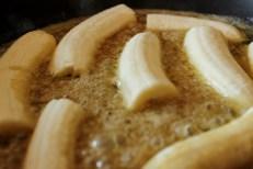 Caramelising Bananas