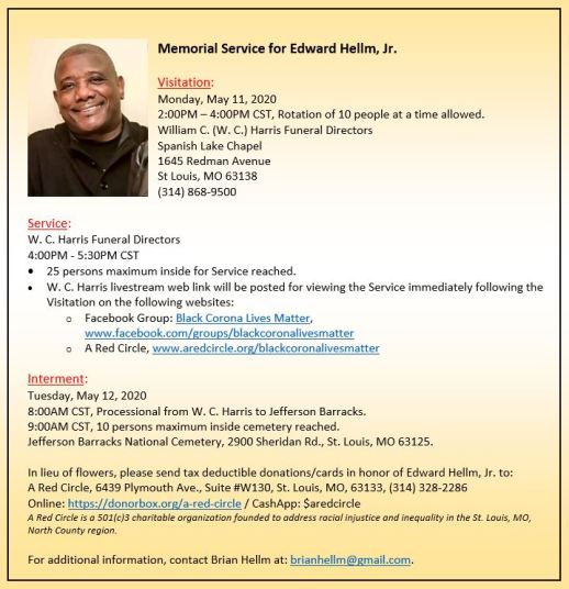 Services for Edward Hellm, Jr.