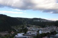 View from my window (this angle not including Cotopaxi)
