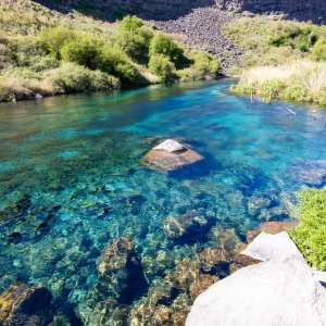 Bluepools in Box Canyon Springs state park idaho