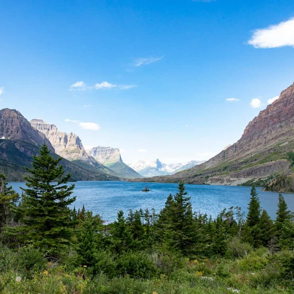 Goose Island Glacier National Park Montana