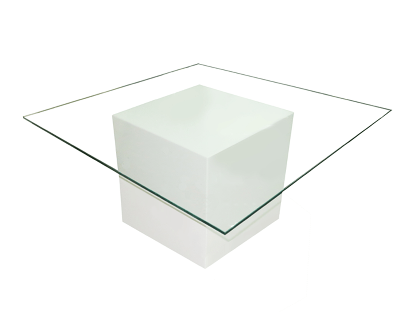 Le Minou Square Glass Coffee Table Furniture Rentals In Dubai Abu Dhabi Uae