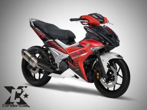 Konsep modifikasi Jupiter MX King 150 (jupiter MX150