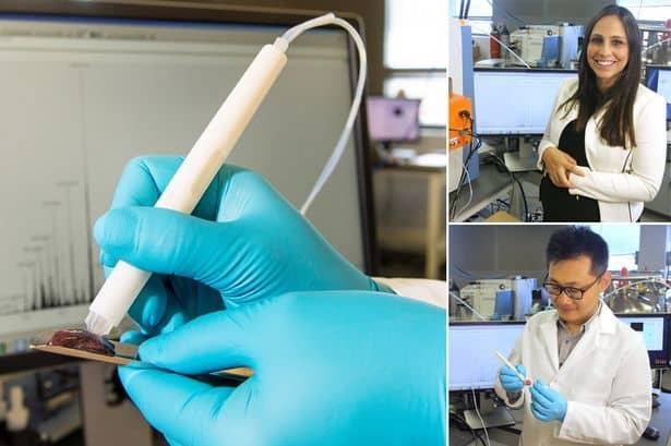 MasSpec Pen can detect cancer tissues
