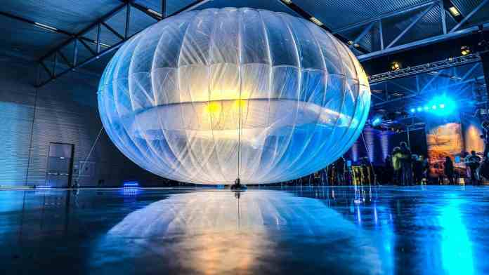 Alphabet Project Loon balloons