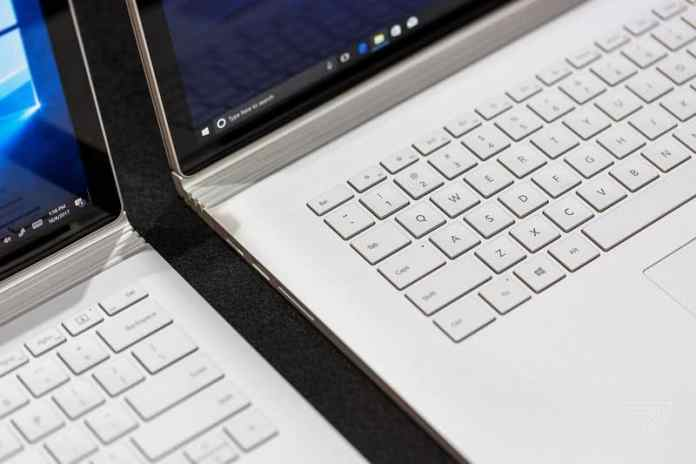 Microsoft laptop Surface Book 2