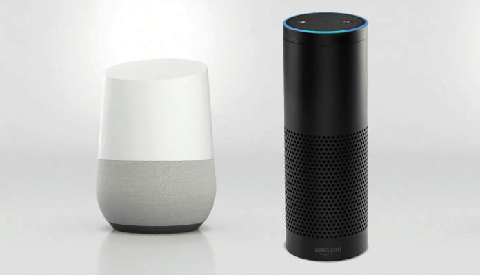 spinonews.com Smart voice assistant Google Home Vs Amazon Alexa