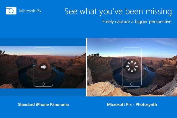 Spinonews.com Microsoft pix camera app