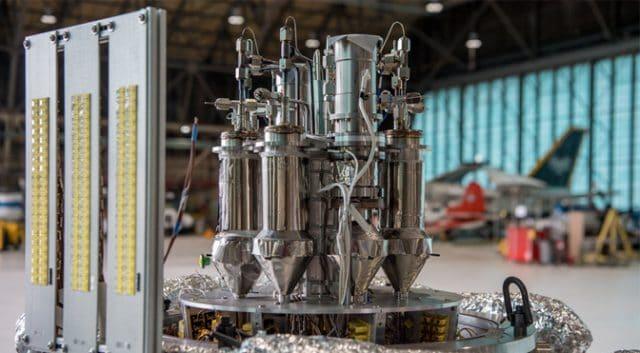 spinonews NASA KRUSTY: A Nano nuclear fission reactor
