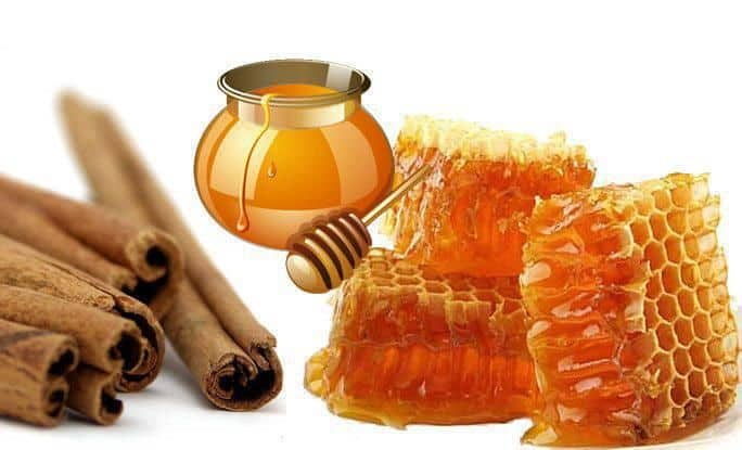 spinonews Combination of honey and cinnamon