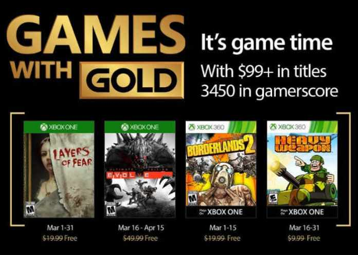 spinonews March 2018 Xbox free games