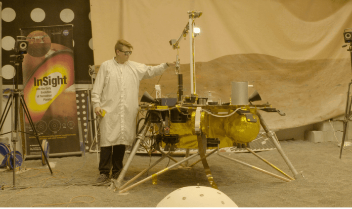 spinonews Mars Robot test