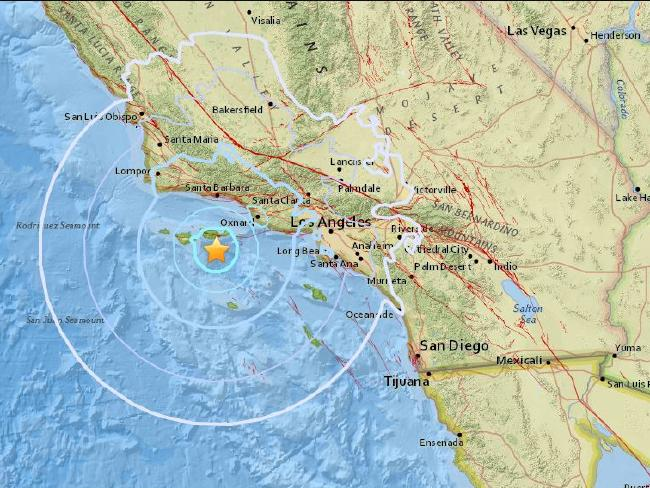spinonews earthquake hits Southern California