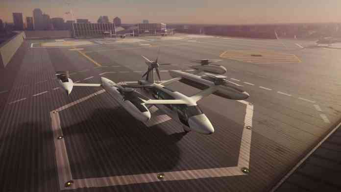 spinonews first flying taxi concept