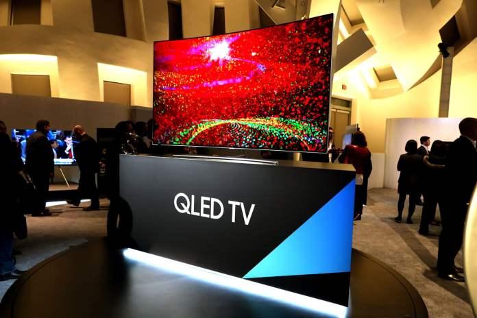 spinonews 2018 QLED TVs