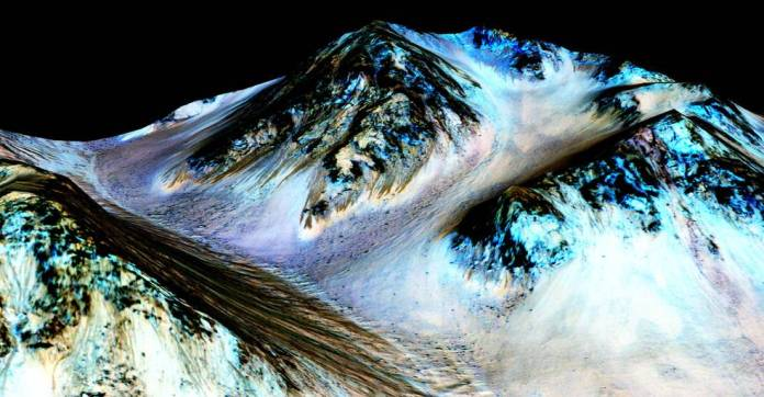 spinonews water on Mars