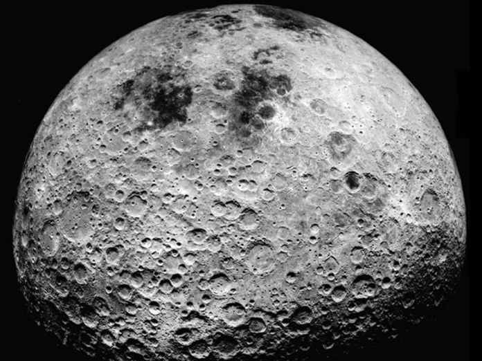 spinonews moon surface contain ice