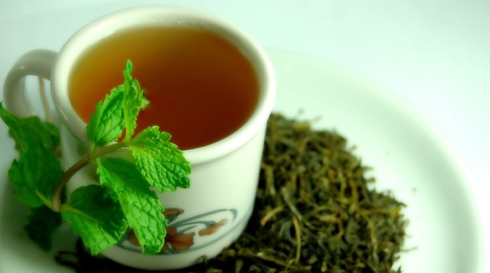 areflect green tea